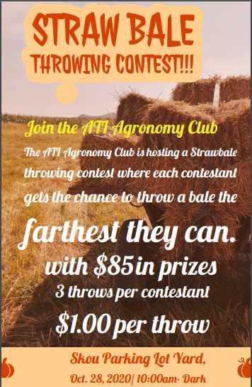Straw Bale Contest